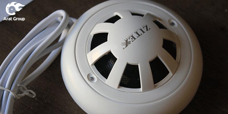 شستی زیتکس - محصولات اعلام حریق زیتکس