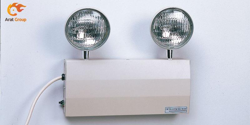 لوازم جانبی سیستم اعلام حریق - چراغ اضطراری