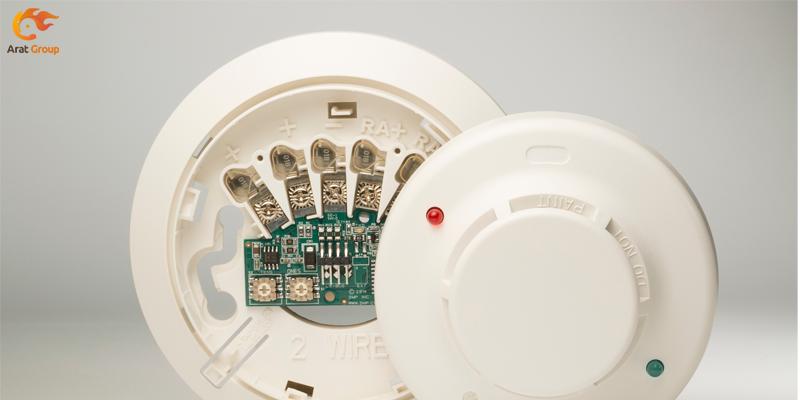 مدارهای ورودی دتکتورهای دود