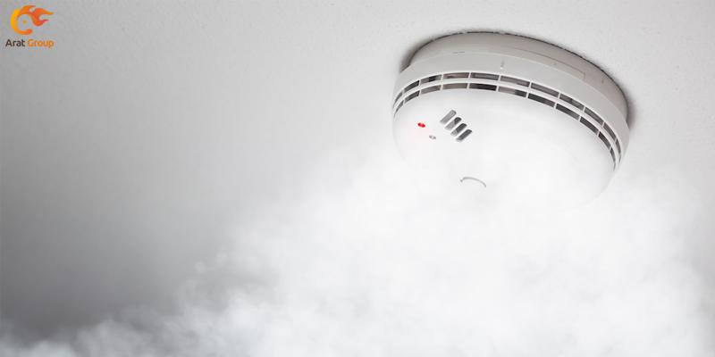 فروش Smoke Detector در مرکز اعلام حریق آرات