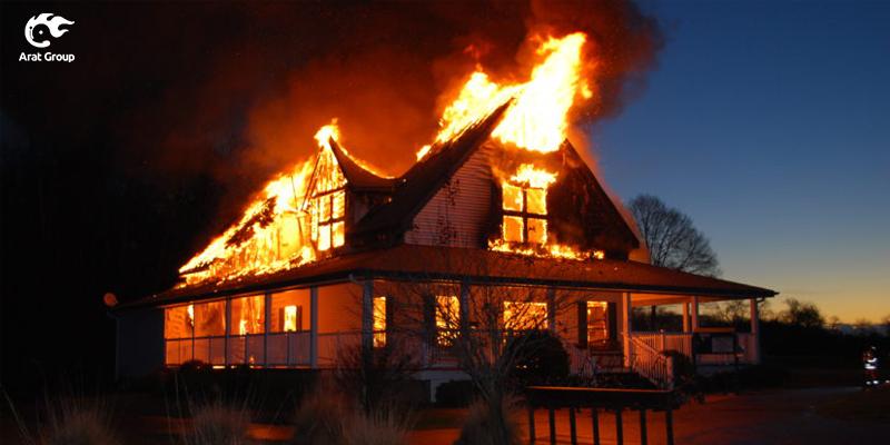 استفاده از انواع دتکتور برای جلوگیری از بروز آتش سوزی در منزل