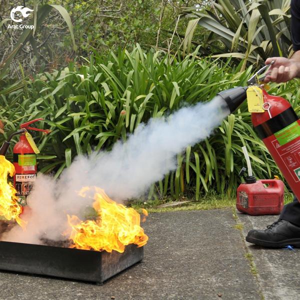 خاموش کنندههای پودر شیمیایی