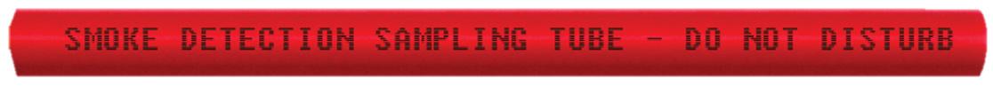 برچسبهای لوله در کاشف دودی مکشی