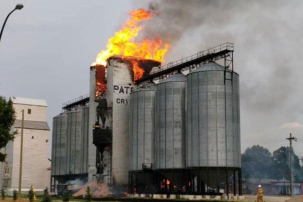 آتش سوزی بیسبب و جلوگیری از آن با کاربرد کابل LHD در سیلوهای غلات