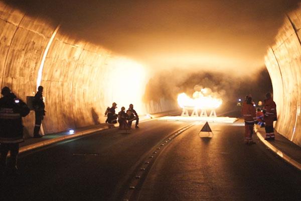 ترفند تونل سیاتل برای پیشگیری از آتش سوزی و پراکندگی آلودگی