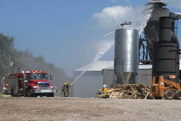 دلایل آتش سوزی در سیلوها رفع آن با کاربرد کابل LHD در سیلوهای غلات