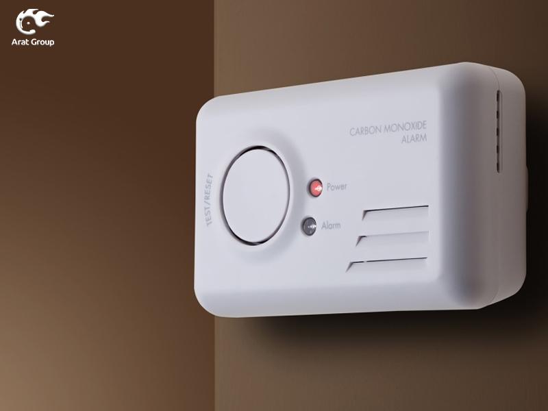 نصب دتکتور گاز مونوکسید کربن در خانههای سیار (کانکس)