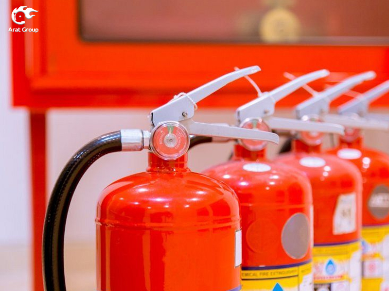 تجهیزات آتش نشانی قابل حمل – تجهیزات اطفاء حریق