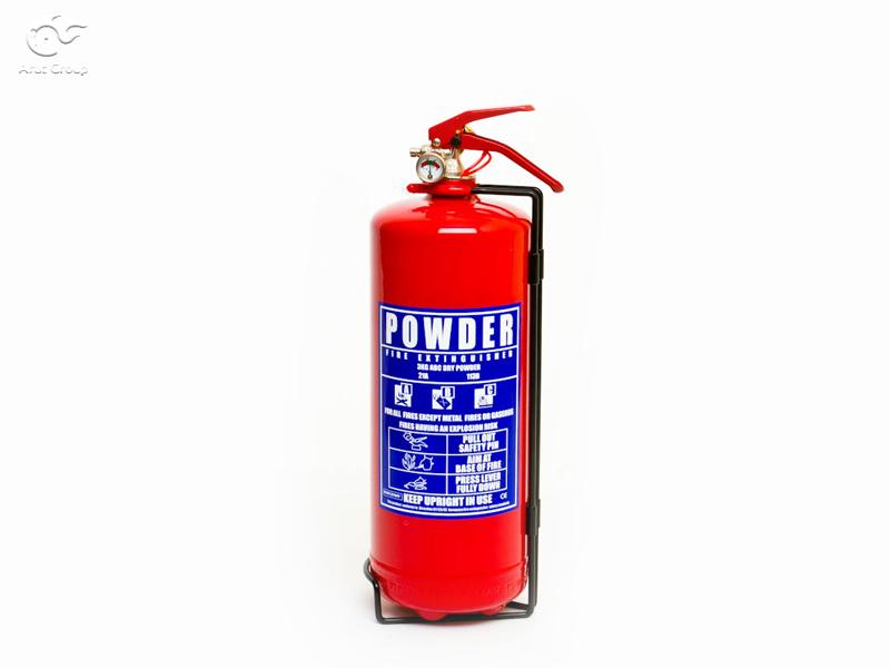 خاموشکنندههای پودری (Powder extinguishers)
