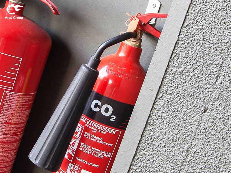 خاموشکنندههای دی اکسید کربن