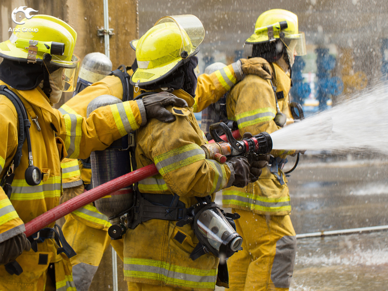 تجهیزات آتش نشانی ثابت