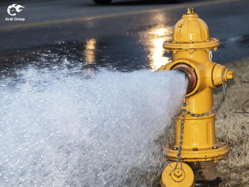 تجهیزات آتش نشانی - شیر آتشنشانی