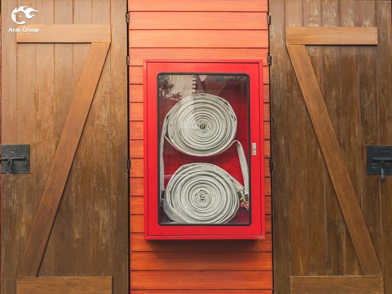 تجهیزات آتش نشانی - شلنگ آتشنشانی